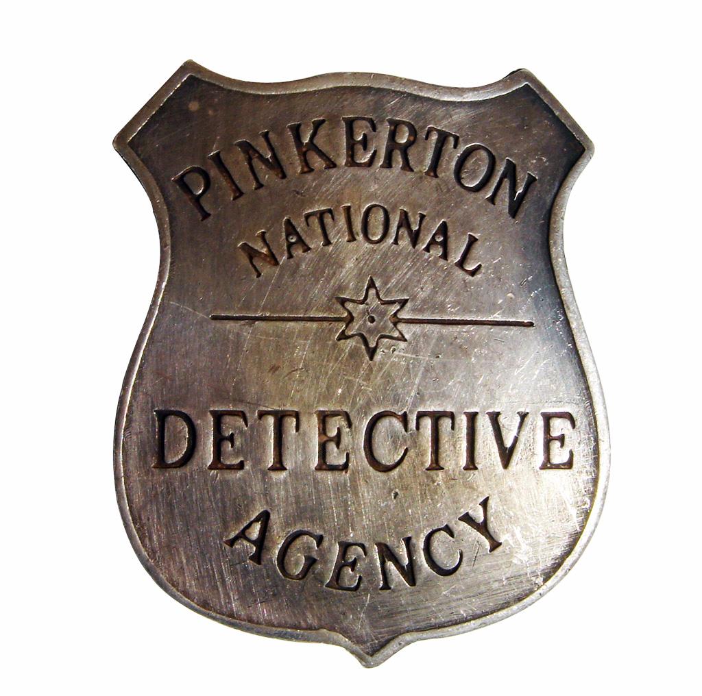 PinkertonBadge