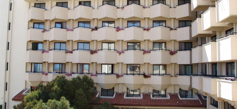 Balcones  en  hotel