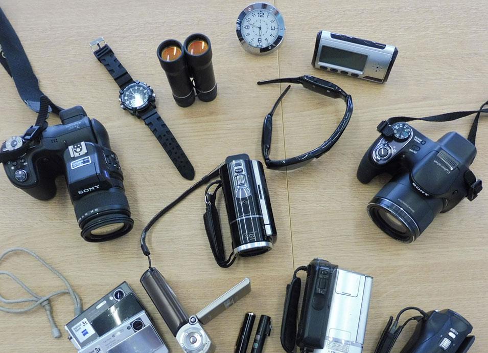 Detectives Cabanach - Dispositivos tecnológicos