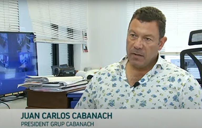 Juan Carlos Cabanach en IB3